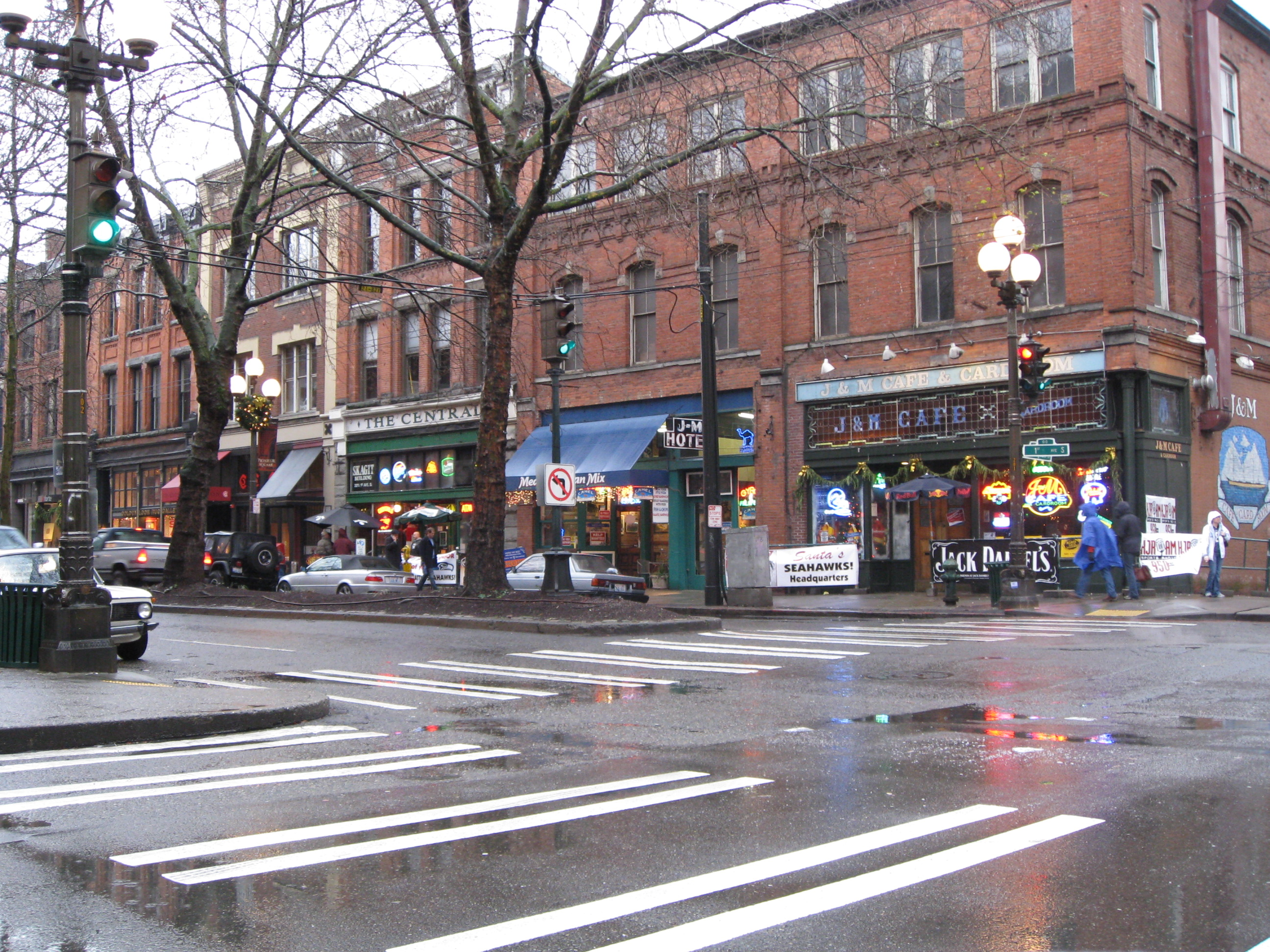Pioneer Square – J&M Cafe – 1st Ave