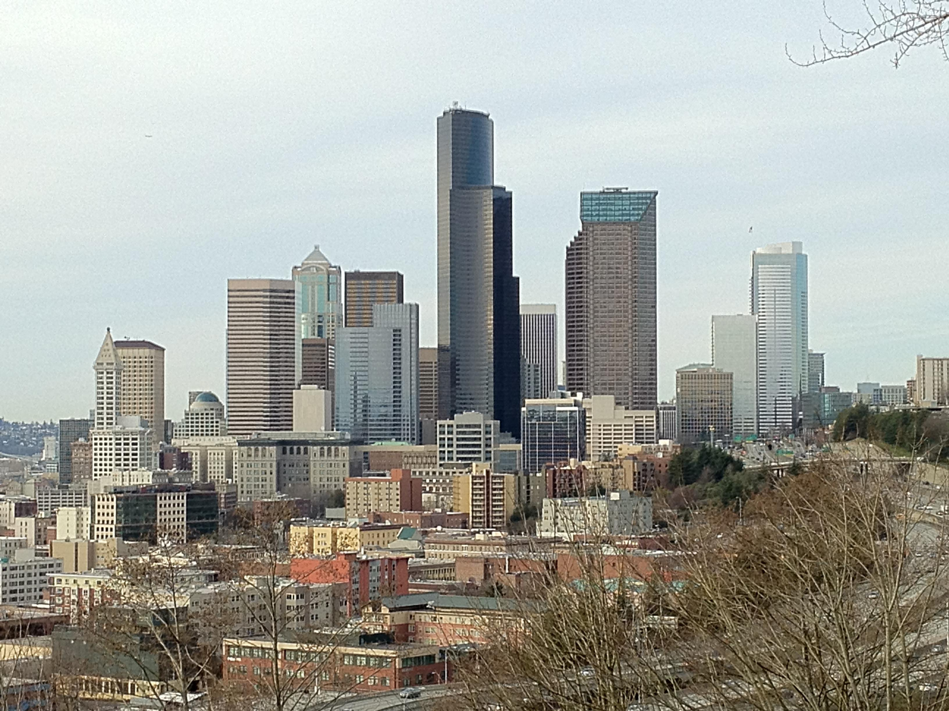 Downtown Seattle from Beacon Hill Rizal Park