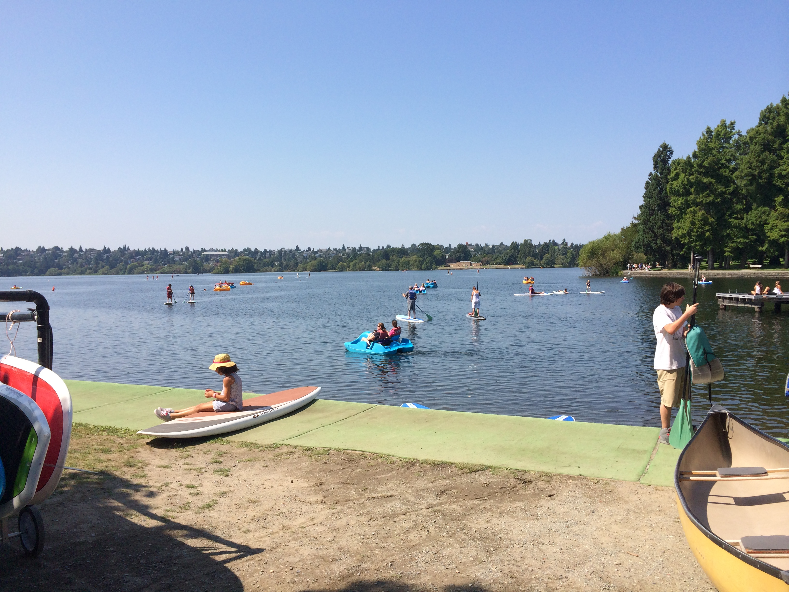 Greenlake – Swimming area