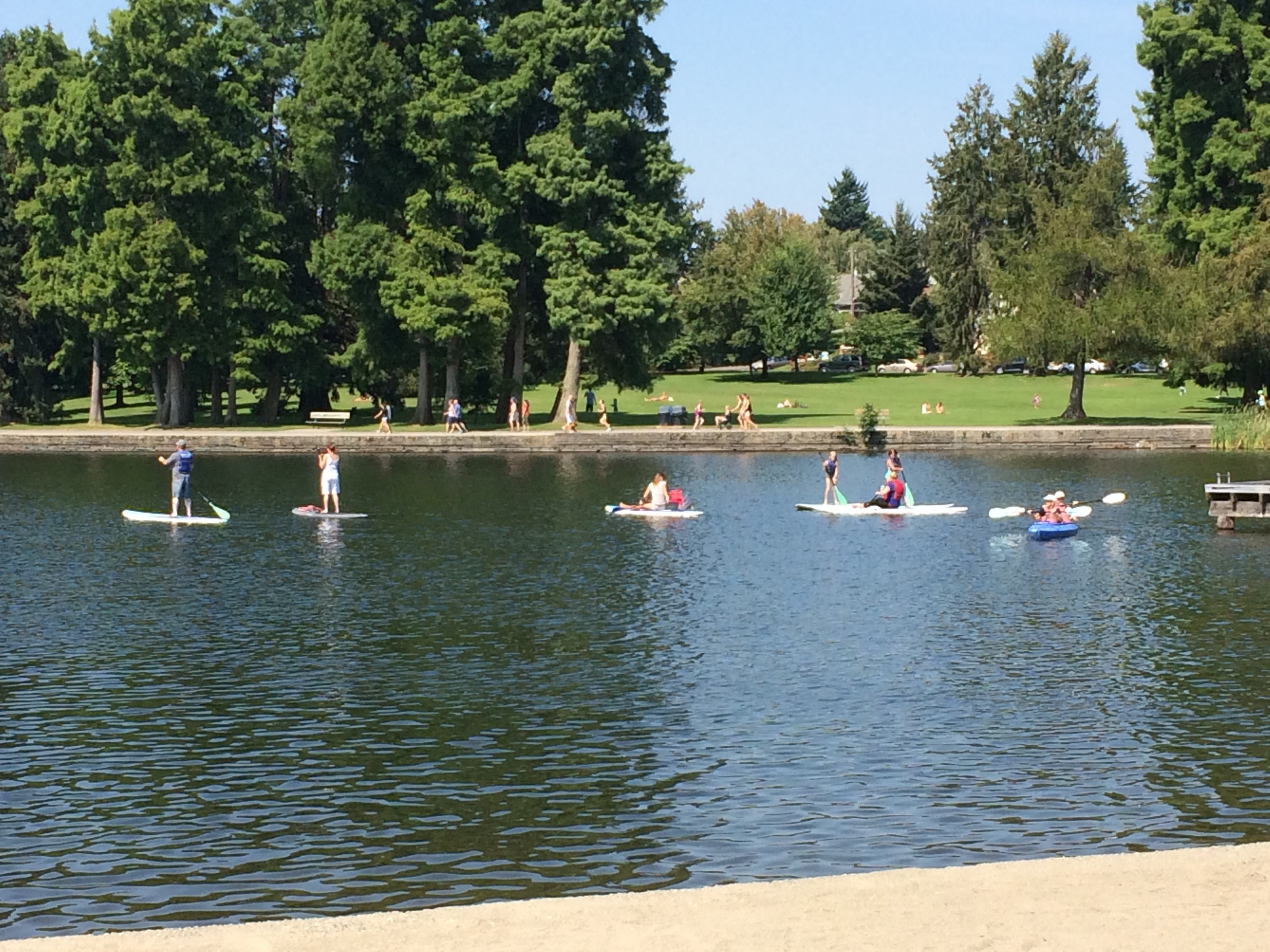 Greenlake – Paddle boarding