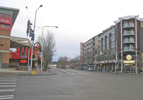 Lake City – NE 125th St Intersection