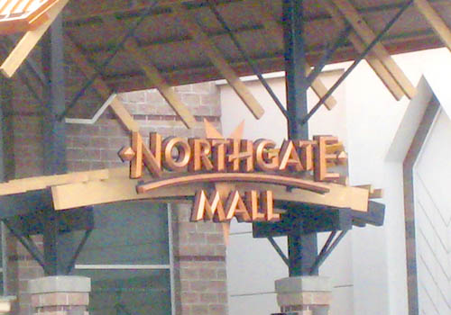 Northgate – Northgate Mall Sign