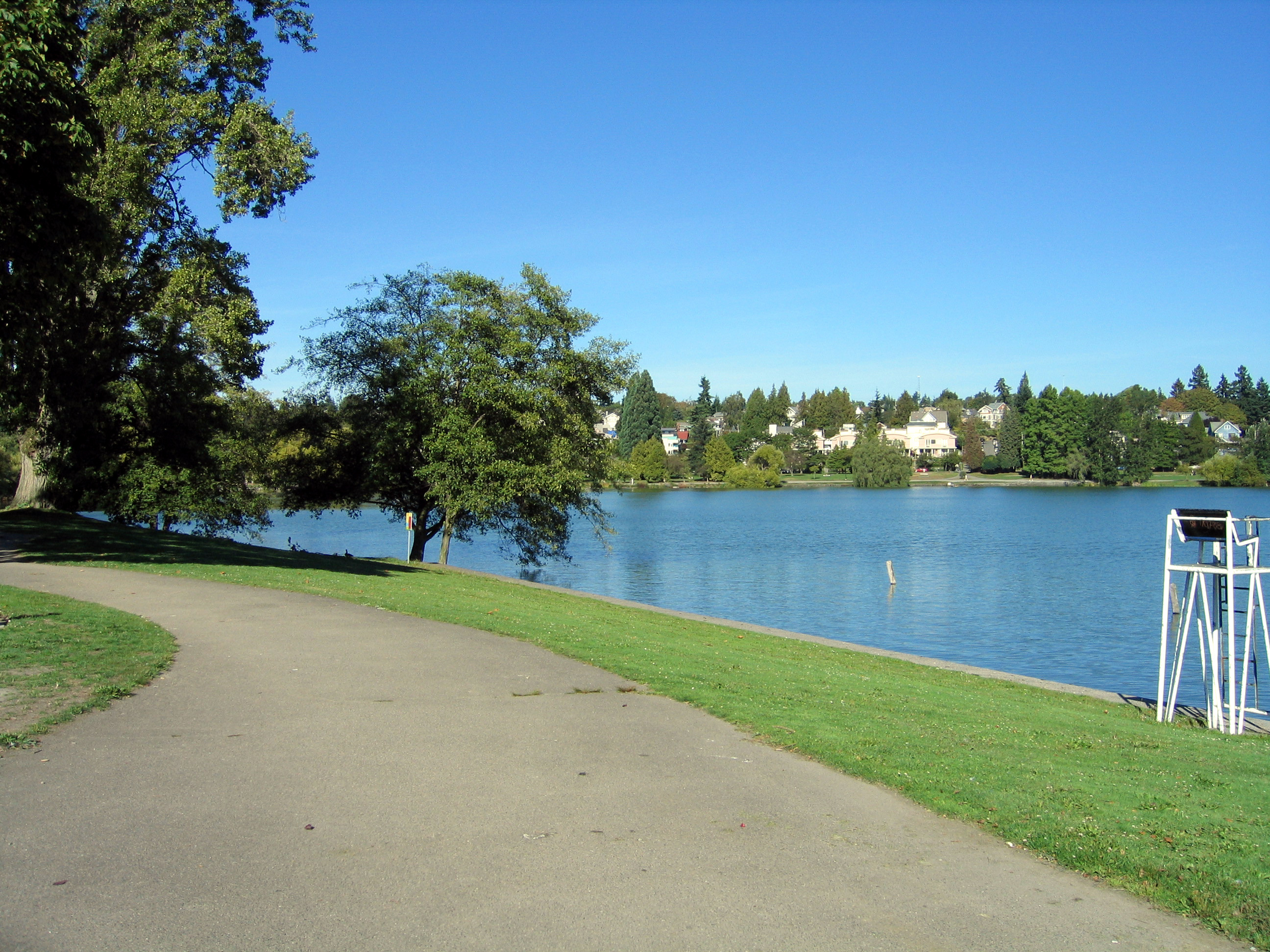 Green Lake Swimming Area