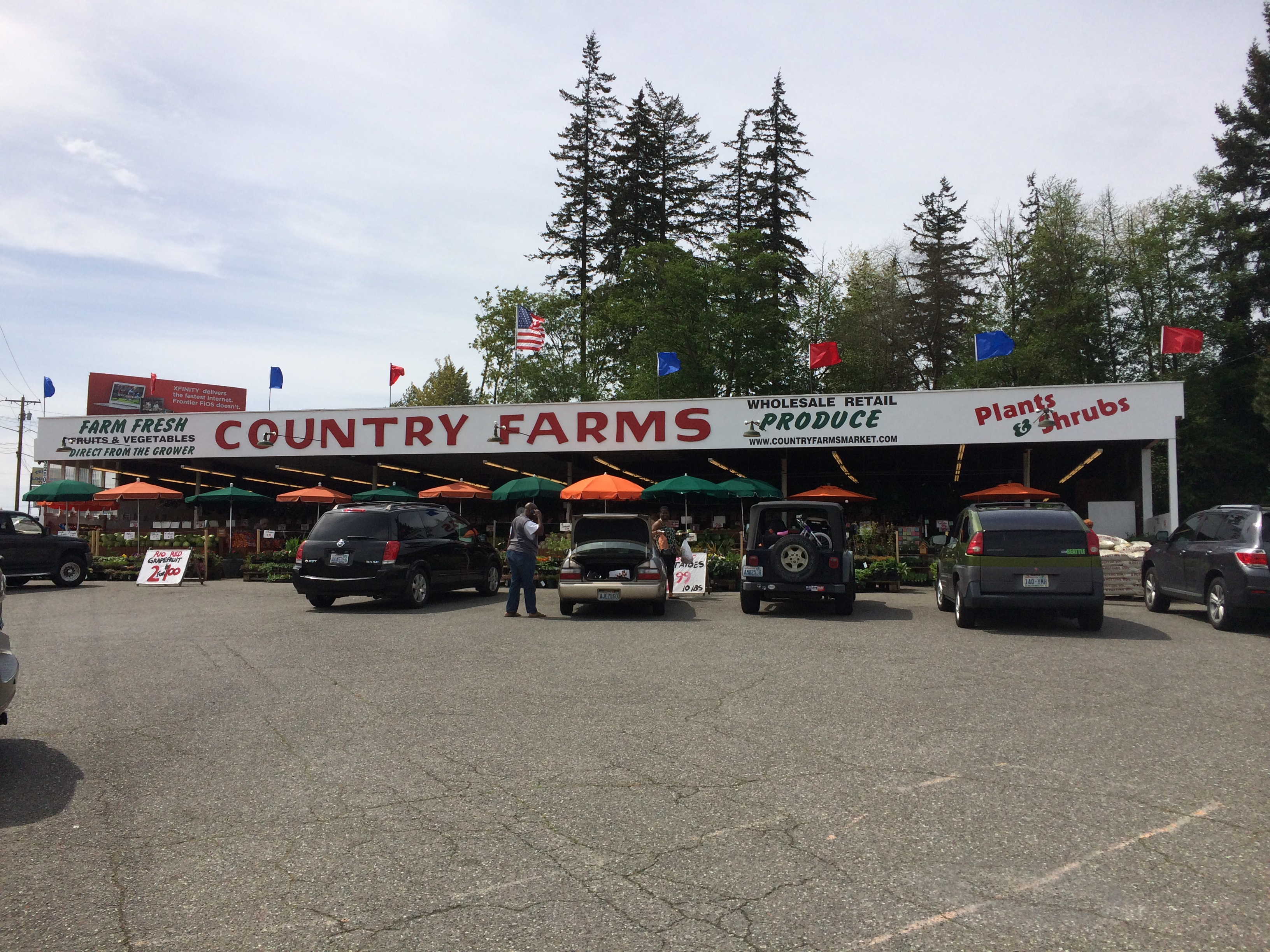 Edmonds – Country Farms Fruit and Vegetable Stand