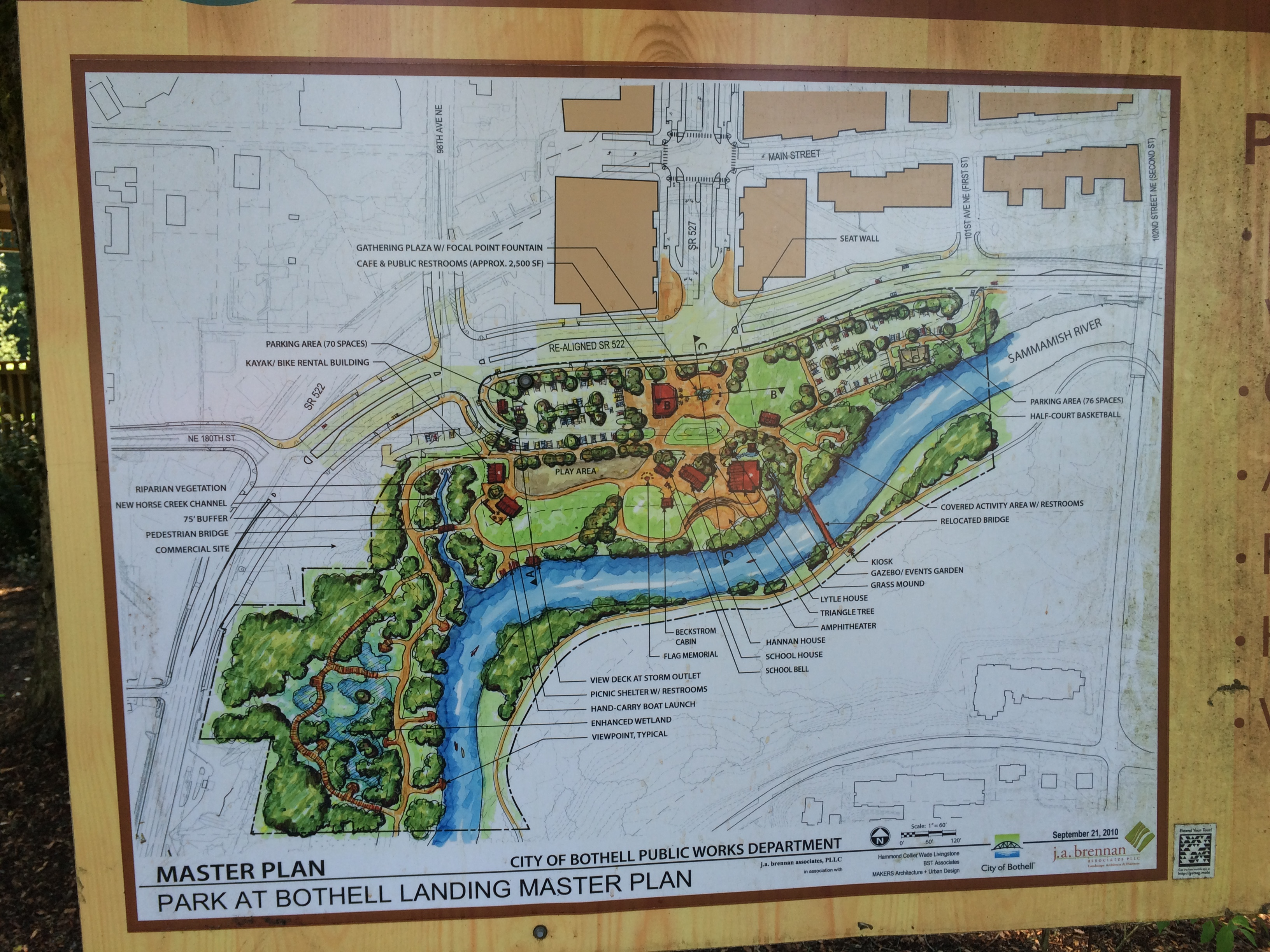 Park at Bothell Landing Master Plan