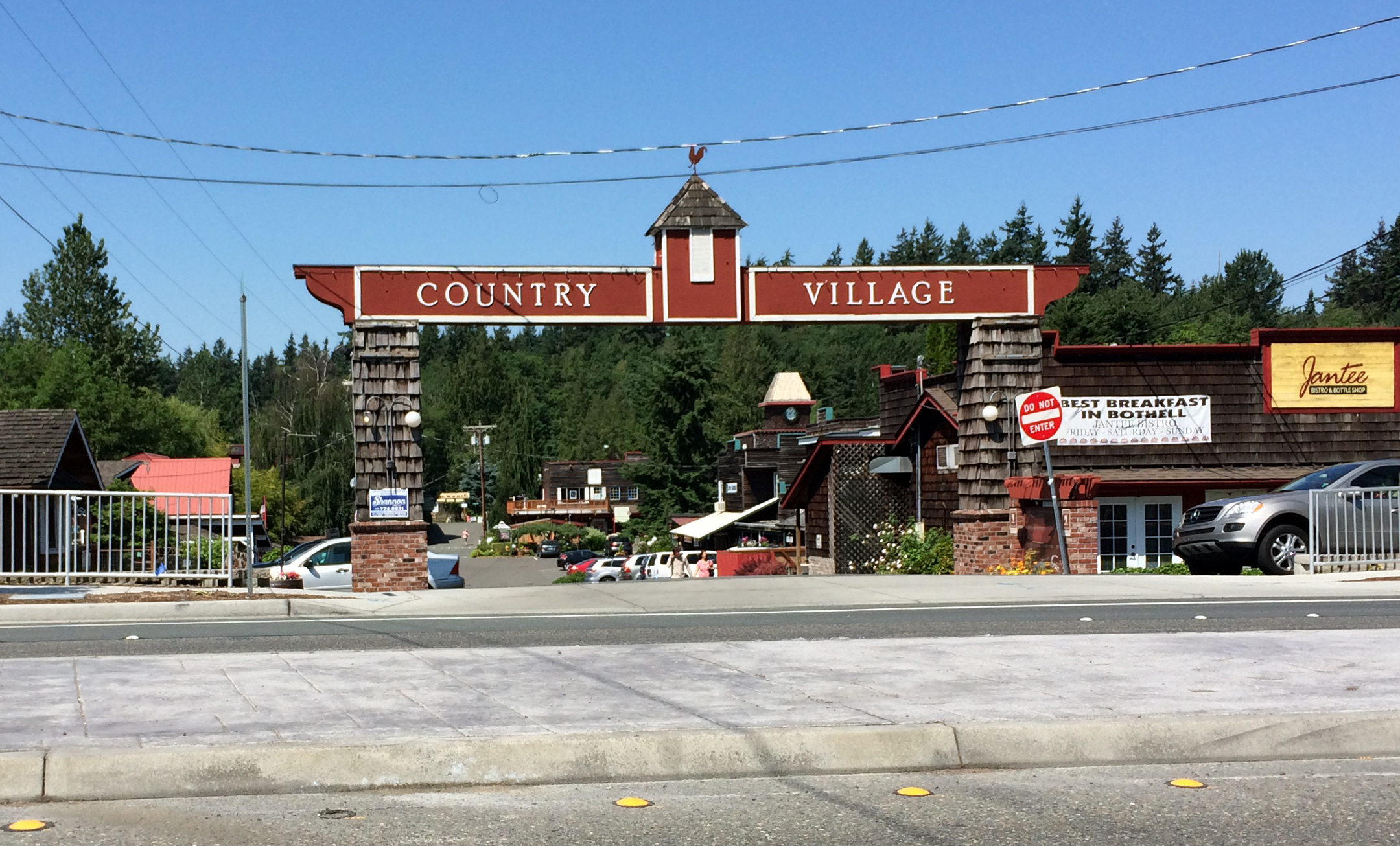 Bothell Country Village Gate